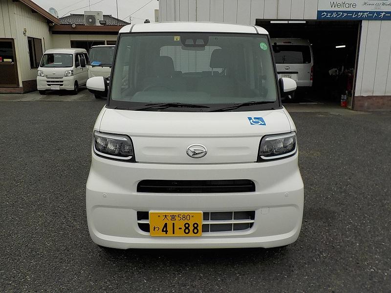 タント福祉車両・車椅子スロープ仕様・4人乗り・ナビ・TV・ETC 4188
