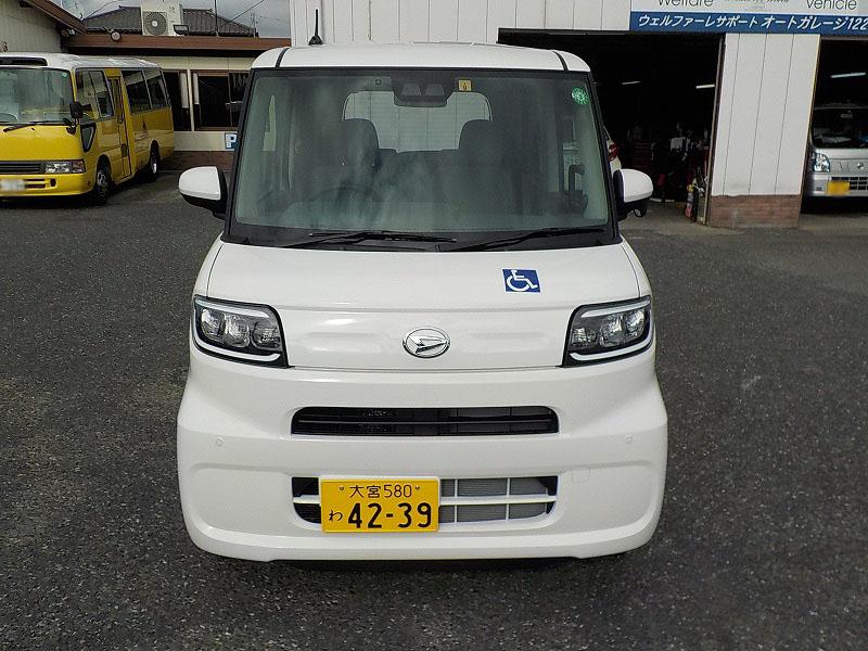 タント福祉車両・車椅子スロープ仕様・4人乗り・ナビ・TV・ETC 4239