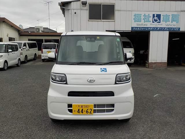 タント福祉車両・車椅子スロープ仕様・4人乗り・ナビ・TV・ETC 4462