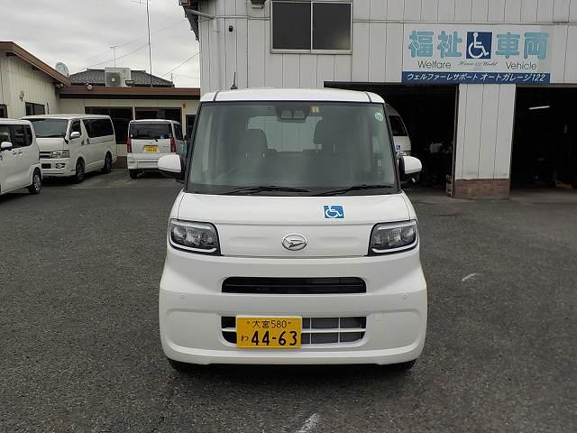 タント福祉車両・車椅子スロープ仕様・4人乗り・ナビ・TV・ETC 4463