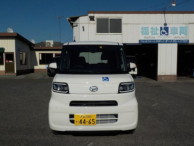 タント福祉車両・車椅子スロープ仕様・4人乗り・ナビ・TV・ETC 4465