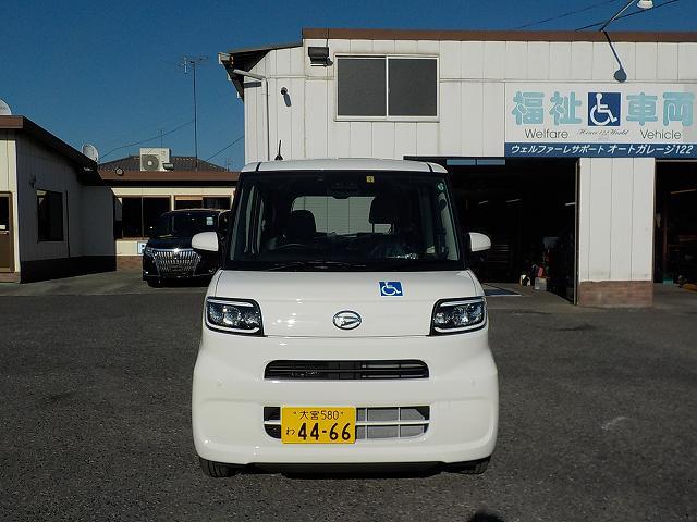 タント福祉車両・車椅子スロープ仕様・4人乗り・ナビ・TV・ETC 4466