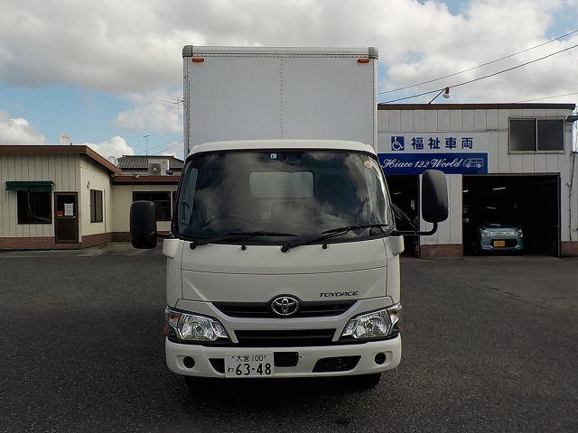 トヨエース 4000CC 2.0トン トラック・箱ボディー AT車 ナビETC 6348