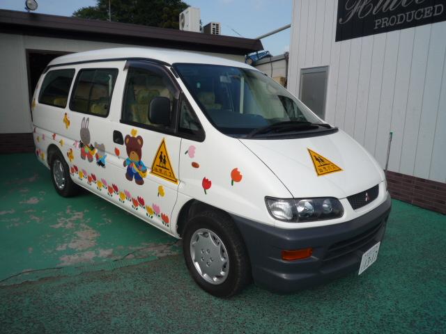 デリカ 幼児バス 大人2+幼児13人乗り AT車 1317
