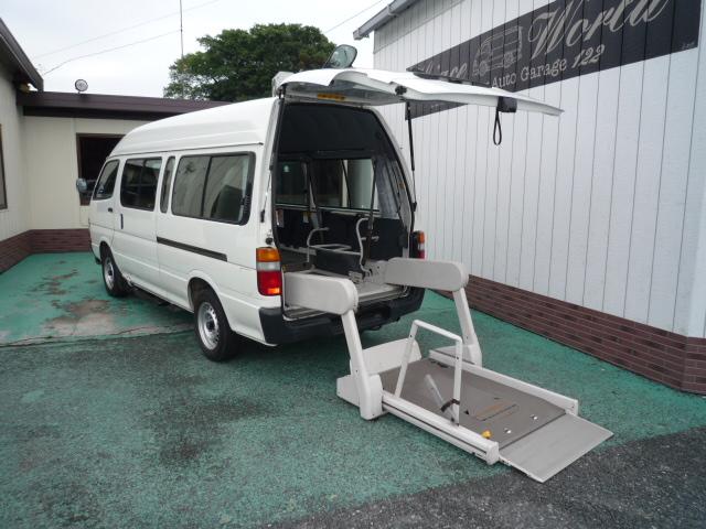 ハイエース 車椅子2台+健常者8人=10人乗り・560