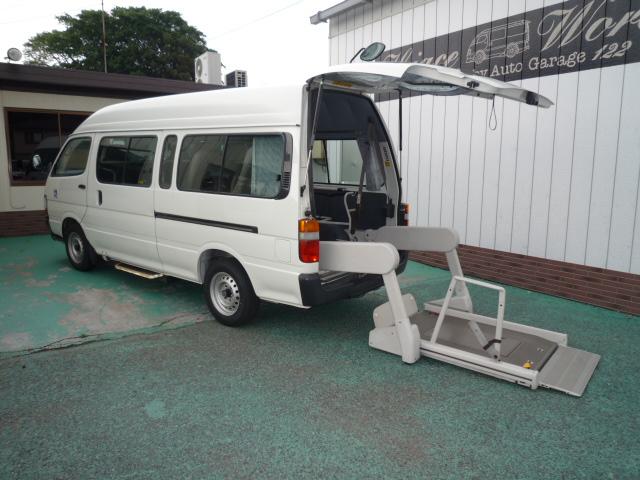 ハイエース 車椅子2台+健常者8人=10人乗り・556